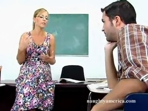 Hard sex teacher Nicole Moore