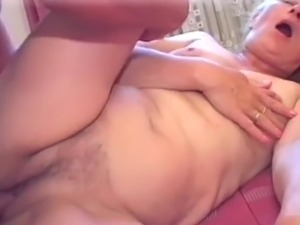 Golden-haired milf&#039;s sexy cookie licked to orgasm