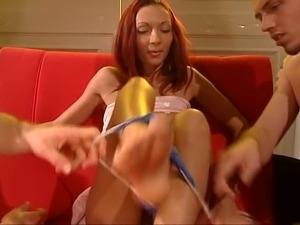 Horny Redhead Fucked 