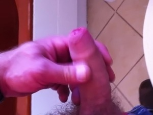 Public Toilet Jerking